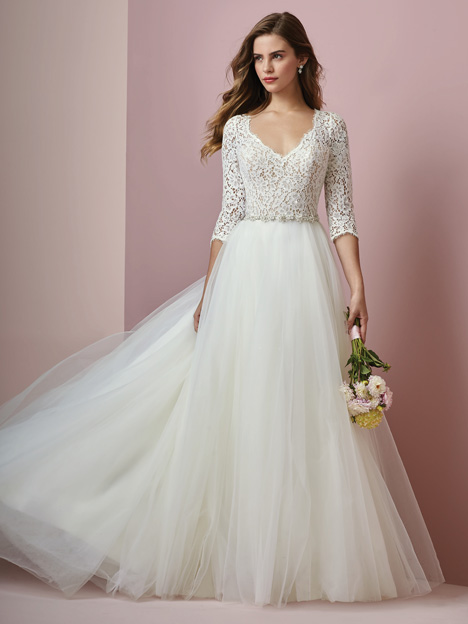 Scarlett Wedding                                          dress by Rebecca Ingram