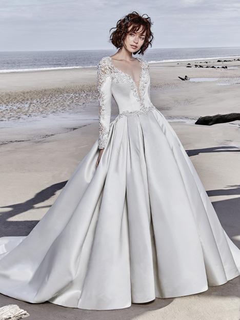 Brennon Wedding                                          dress by Sottero and Midgley