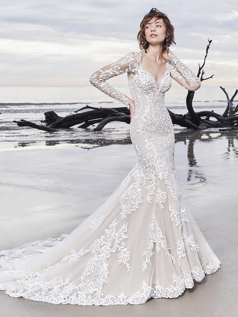 Dakota Wedding                                          dress by Sottero and Midgley