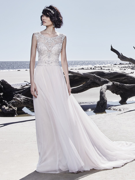Ezra Wedding                                          dress by Sottero and Midgley