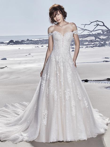 Glenn Wedding                                          dress by Sottero and Midgley