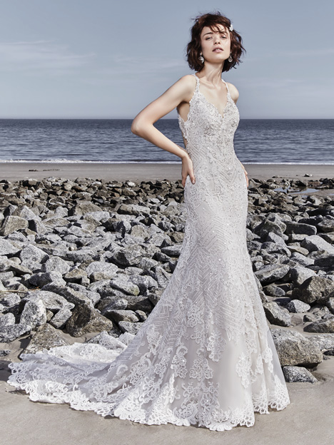 Holden Wedding                                          dress by Sottero and Midgley