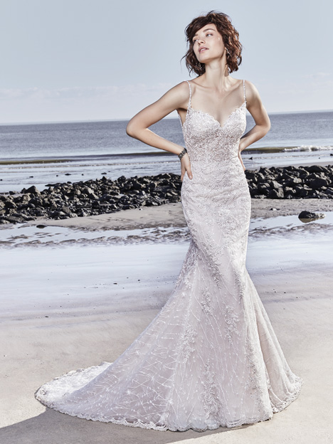 Marcelle Wedding                                          dress by Sottero and Midgley