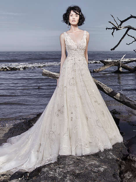 Maven Wedding                                          dress by Sottero and Midgley
