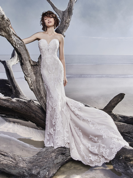 Memphis Wedding                                          dress by Sottero and Midgley