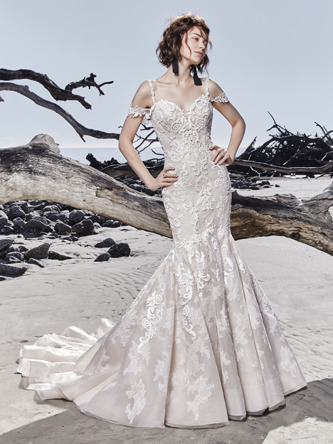 Portia Wedding                                          dress by Sottero and Midgley