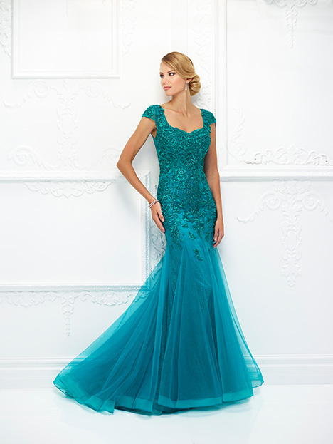 118D02 (Emerald) Mother of the Bride                              dress by Montage : Ivonne D Collection
