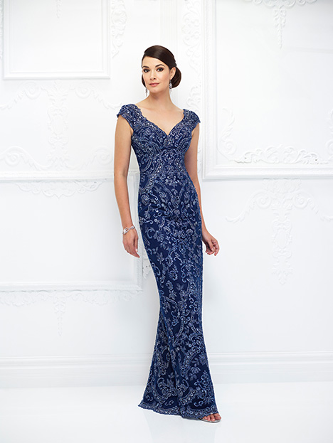 118D05 (Navy) Mother of the Bride                              dress by Montage : Ivonne D Collection
