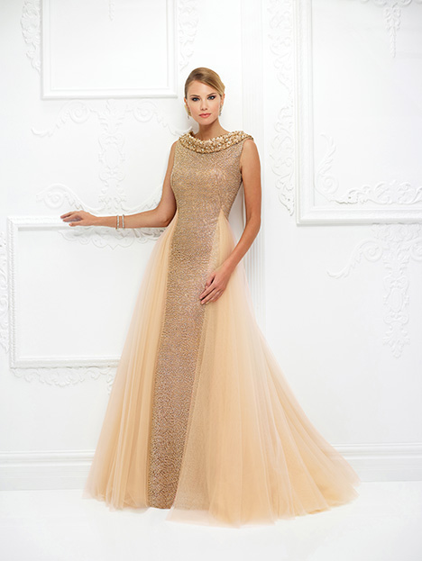 118D10 (Champagne) Mother of the Bride                              dress by Montage : Ivonne D Collection