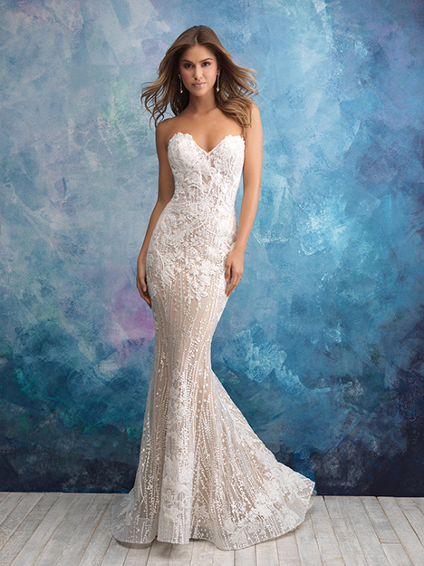 9550 Wedding                                          dress by Allure Bridals