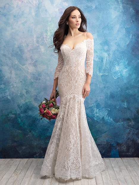 9551 Wedding                                          dress by Allure Bridals