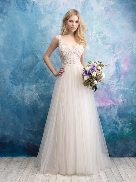 9552 Wedding                                          dress by Allure Bridals