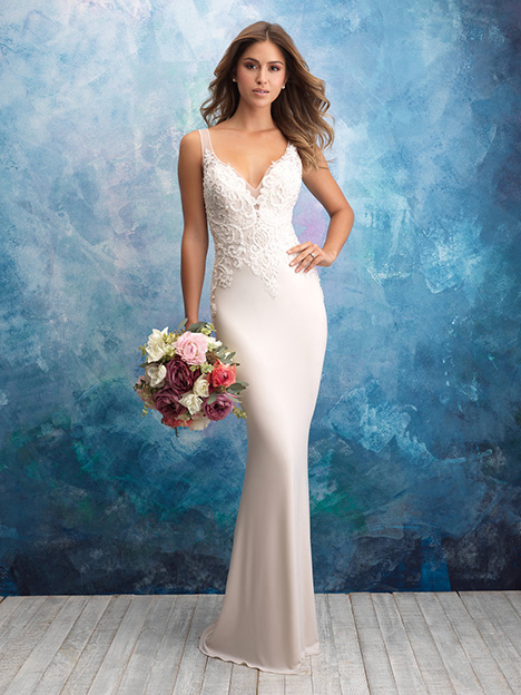 9554 Wedding                                          dress by Allure Bridals