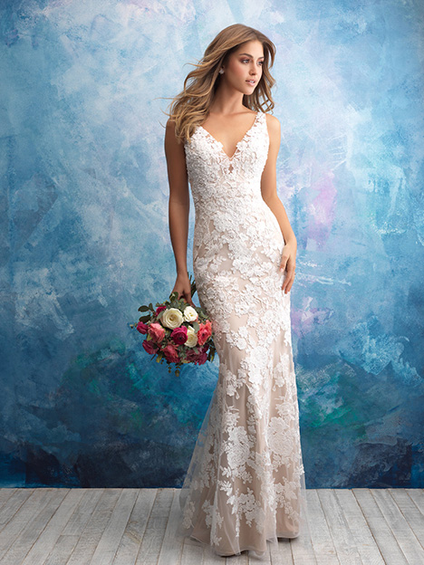 9556 (Nude) Wedding                                          dress by Allure Bridals