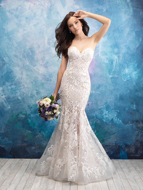 9560 Wedding                                          dress by Allure Bridals