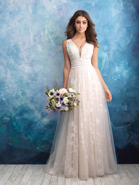 9561 Wedding                                          dress by Allure Bridals
