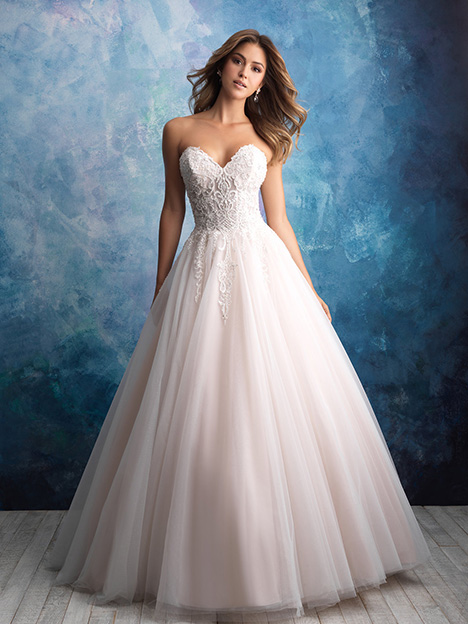 9565 Wedding                                          dress by Allure Bridals