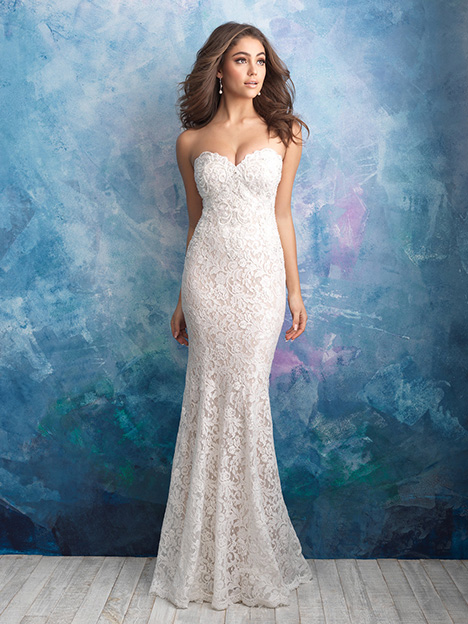 9566 Wedding                                          dress by Allure Bridals