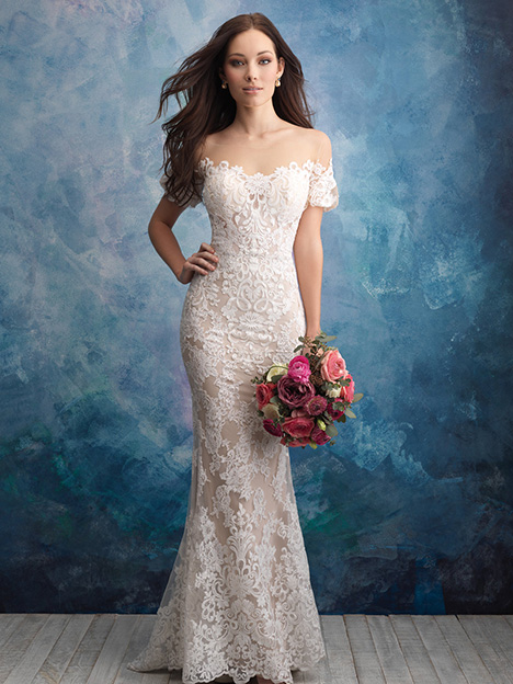 9569 Wedding                                          dress by Allure Bridals