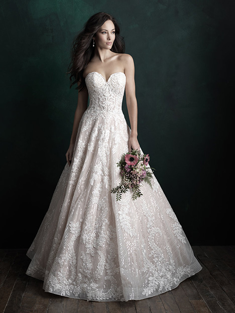 C501 Wedding dress by Allure Couture