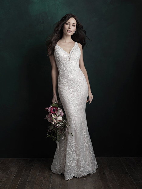 C502 gown from the 2018 Allure Couture collection, as seen on dressfinder.ca