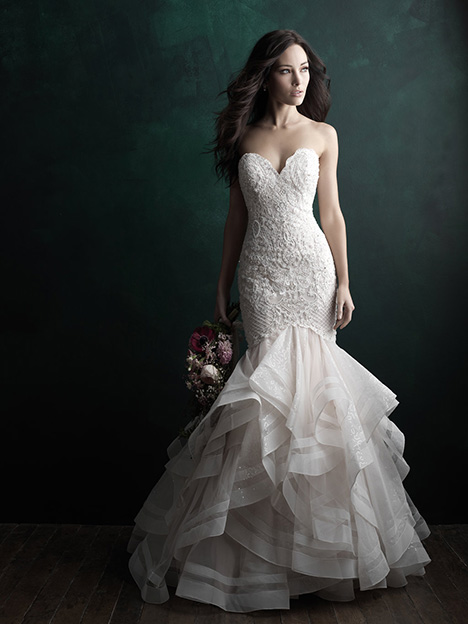 C507 Wedding                                          dress by Allure Bridals : Allure Couture