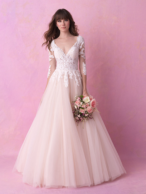 Style 3154 gown from the 2018 Allure Romance collection, as seen on dressfinder.ca