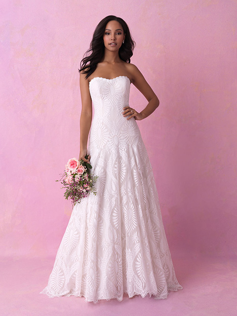 3158 Wedding                                          dress by Allure Romance