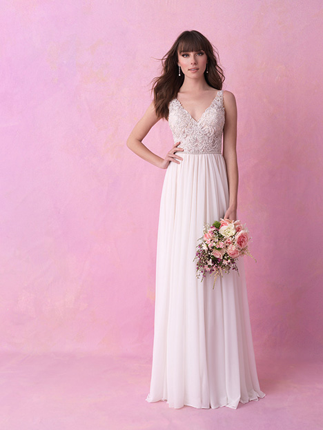 3166 Wedding                                          dress by Allure Romance
