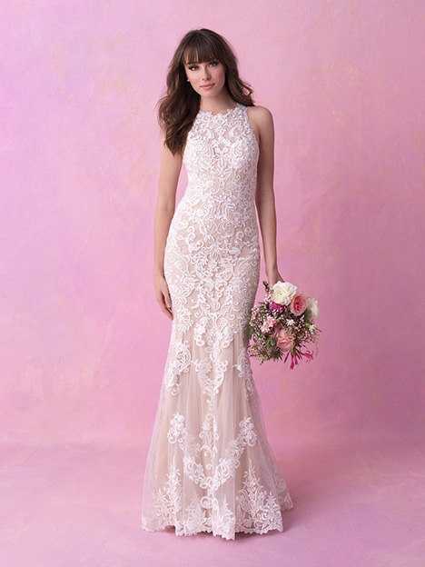 Style 3167 gown from the 2018 Allure Romance collection, as seen on dressfinder.ca