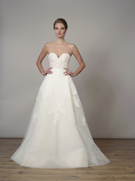 7831 (Overskirt) Wedding                                          dress by Liancarlo