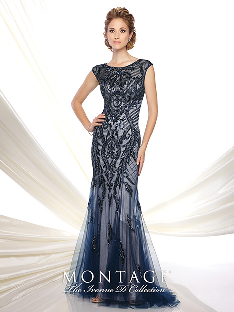 116D31 Mother of the Bride                              dress by Montage: Ivonne D Collection