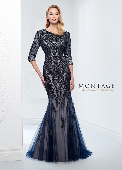 116D31MOD Mother of the Bride                              dress by Montage : Ivonne D Collection