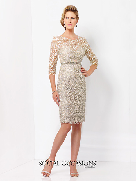 115866SL Mother of the Bride                              dress by Mon Cheri : Social Occasions