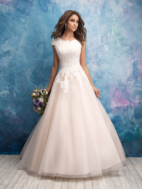 M601 Wedding                                          dress by Allure Modest