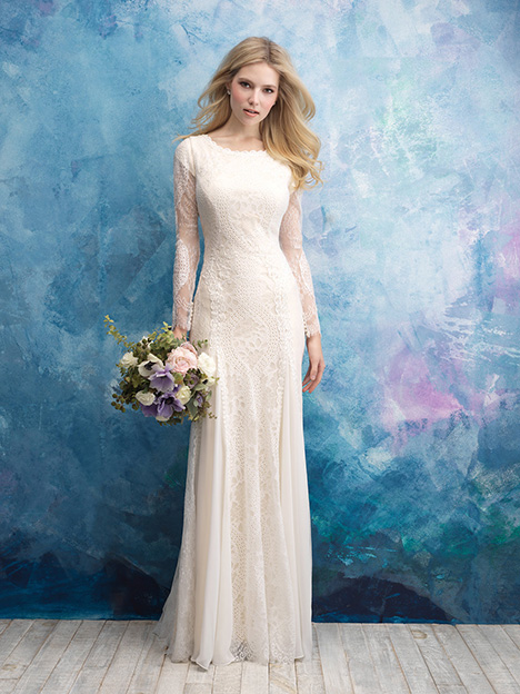 M602 Wedding                                          dress by Allure Modest