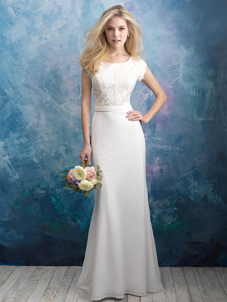 M603 Wedding                                          dress by Allure Modest