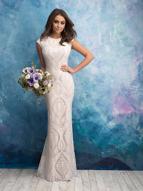 M604 Wedding                                          dress by Allure Modest