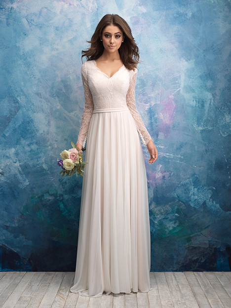 M605 Wedding                                          dress by Allure Modest