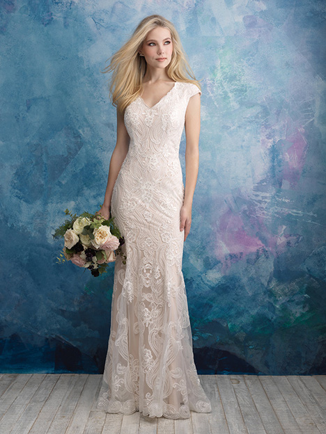 M606 Wedding                                          dress by Allure Modest