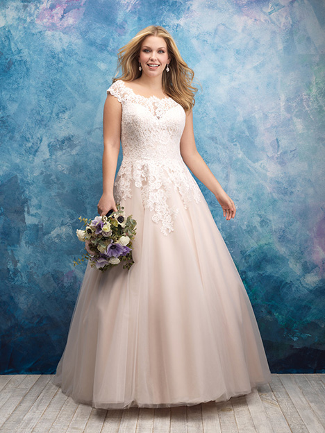 W419 Wedding                                          dress by Allure Women