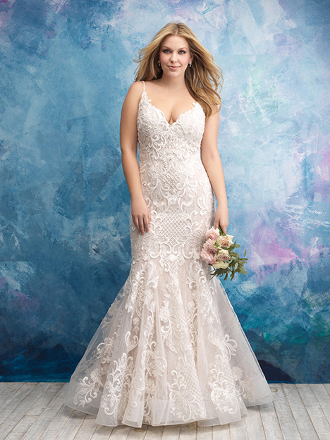 W430 Wedding                                          dress by Allure Women
