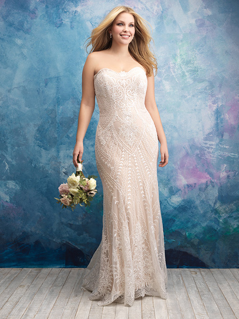 W431 Wedding                                          dress by Allure Women