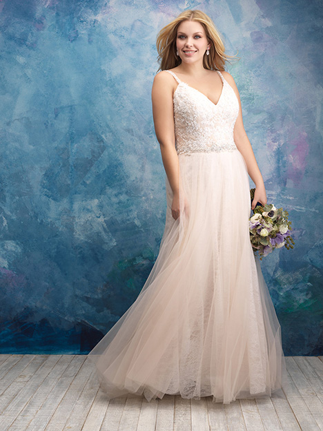 W432 Wedding                                          dress by Allure Women