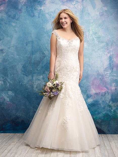 Wedding                                          dress by Allure Women