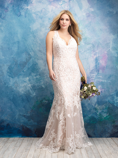 W434 Wedding                                          dress by Allure Women