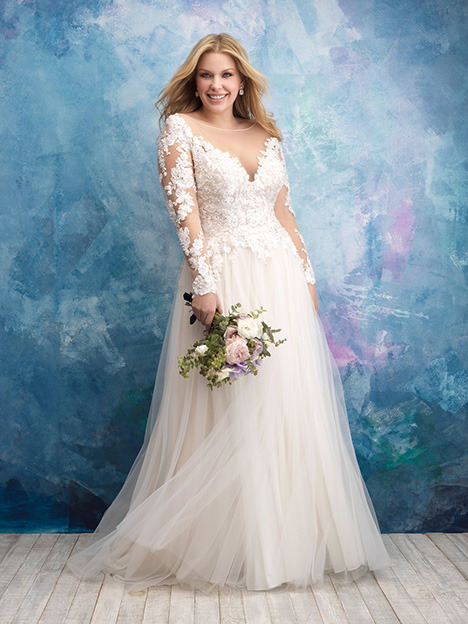 W435 Wedding                                          dress by Allure Women