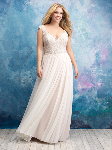 W437 Wedding                                          dress by Allure Women