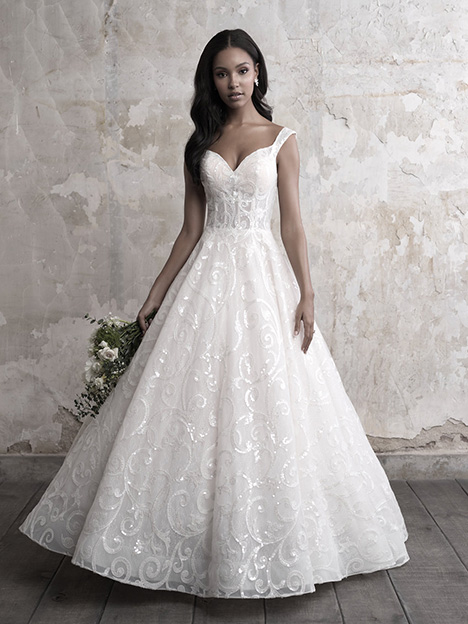 MJ452 Wedding                                          dress by Madison James