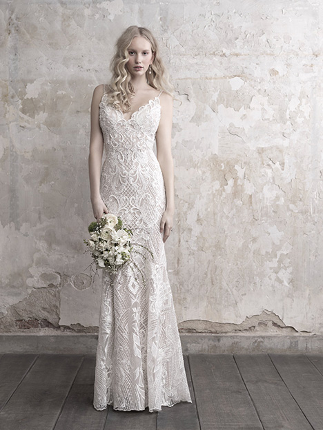 MJ455 Wedding                                          dress by Madison James